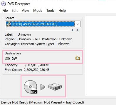 DVD DecrypterとDVD ShrinkがWindows10で使えない場合は互換