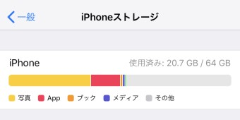 ストレージ その他 iphone